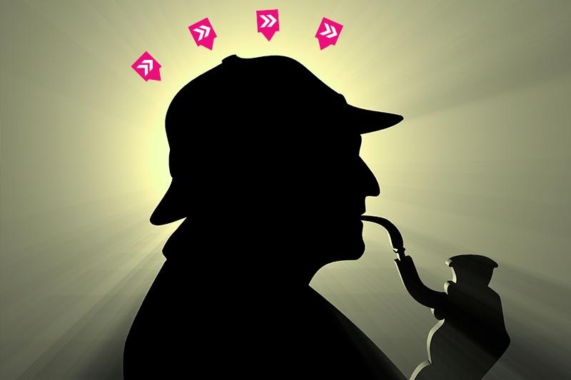 Teambuilding gåder - Sherlock Holmes