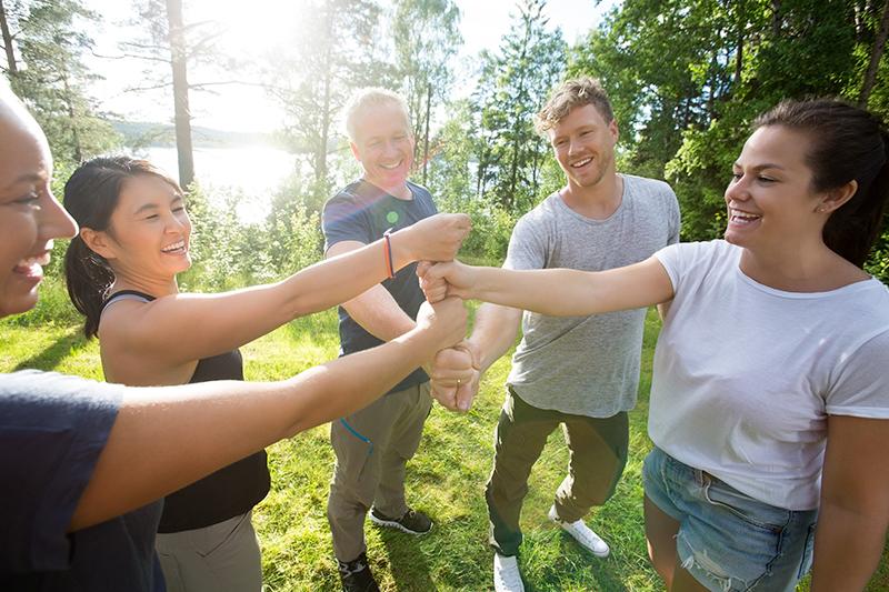 Teambuilding idéer i skoven