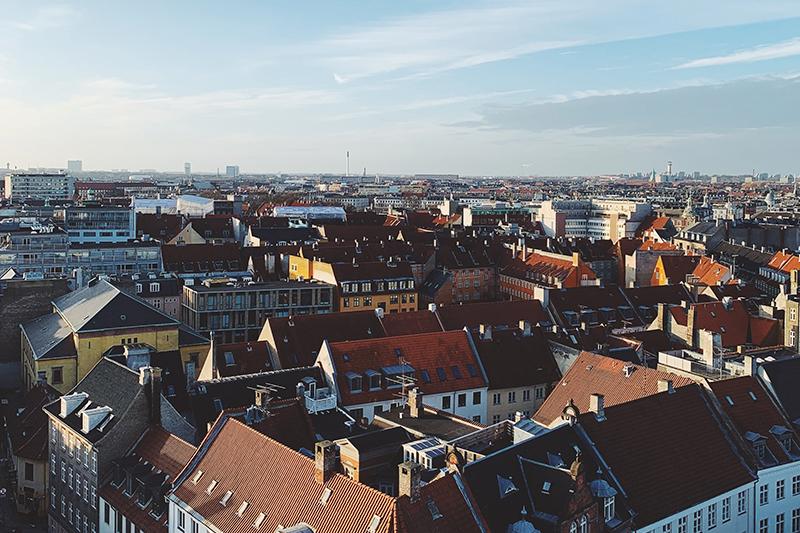 Teambuilding med udsigt over København.