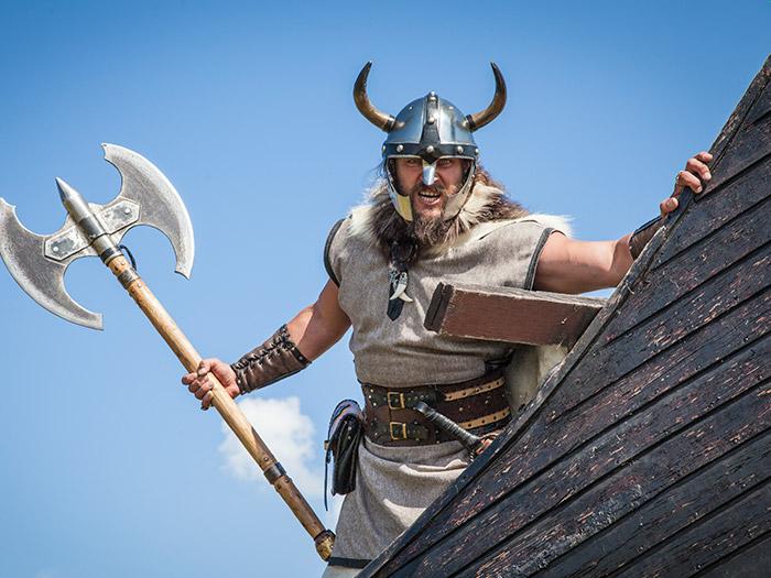 Anderledes teambuilding som viking